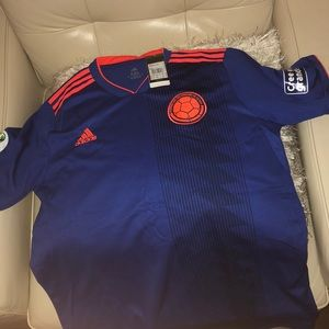 Adidas 2019 Colombia Soccer Jersey